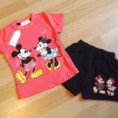 Летний костюм: футболка и шорты,80р,90р! Замеры в объявлении. УП+10 грн.