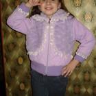 Куртка для девочки 5-6-7 лет