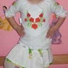 Красивая нарядная блуза-вышиванка