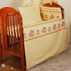 Комплекты постельного белья в кроватку из 6 эл (без балдахина и кармана)- Круг