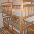 Двухъярусная кровать Карина Люкс с ящиками и бортиками.