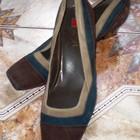 Новые замшевые туфельки Hogl 37 размера