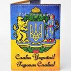 Обложка на паспорт в украинском стиле