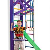 Детский спортивный уголок ,спортивная стенка,спортивный комплекс Радуга 3-220