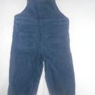 Вельветовые штаны-комбинезон в хорошем состоянии