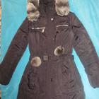Зимний пуховик (пальто) 42-44-46 размер
