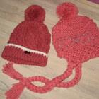 Зимние шапки для девочки или мамочки