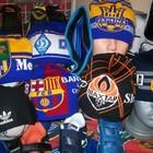 Шапки,шарфы спортивные клубные от 40-55 грн.Футбольная форма