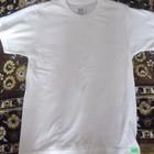 футболка белая хлопковая