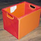 Коробка для хранения игрушек и прочего Ikea. Красный/Оранжевый Наличие Луганск