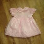 Нарядное платье Peach на годик (9-18 мес)
