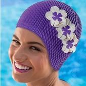 Шапочка для плавания резиновая