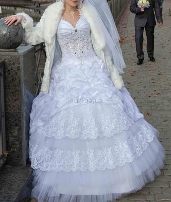 Свадебное платье размер от 40 до 46 фото №1