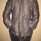 зимняя куртка, натуральный пуховик, 10 размер, 160-165 роста