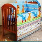 Польские Комплект постельного белья в детскую кроватку из 7 эл. (без балдахина)