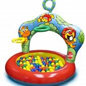 Большой бассейн Play Wow Джунгли с кольцами (3067PW)