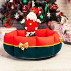 Рождественский лежак для собаки Noel
