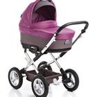 C800 детская универсальная коляска Geoby расцветка 379 Сиреневая с серым!