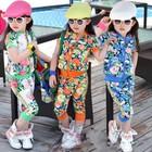 В наличии стильные летние коттоновые костюмы для девочек