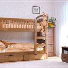 Двухъярусная кровать Карина с/п+ ящики + матрасы