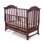 Кроватка деревянная Baby Care BC-411BC темный орех. Бесплатная пересылка Новой Почтой!