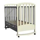 Кроватка деревянная Baby Care BC-470BC сл.кость ламель R