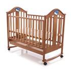 Кроватка деревянная Baby Care BC-433M тик ламель R