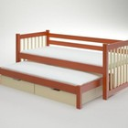 Односпальная кровать Анна с дополнительным спальным местом на заказ