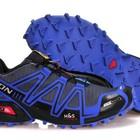 Кроссовки Salomon Speedcross 3 - черно-синие