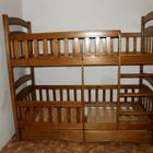 Двухярусная кровать-трансформер Карина-Люкс Евро 2 ящика, высокое качество.