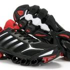 Мужские кроссовки Adidas MegaBounce - черно-белые+красный