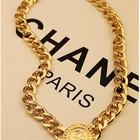 Колье цепь Versace ,Золотое колье