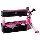Кукла Монстер хай Monster High Дракулаура и её кровать-шкатулка-гробик