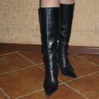 Цена снижена! продам итальянские кожаные деми. сапоги , рр 37-38