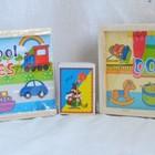 Деревянная игрушка Домино транспорт и игрушки