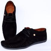 Туфли-Мокасины мужские Mocca размеры 40-45 №mocc