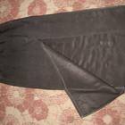 Длинная юбка с большим разрезом! Размер 42-46.
