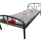 кровать Эконом с ватным матрасом - 1900х800 мм