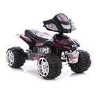 Электроквадроцикл Bambi ZP 5118 черный/малиновый