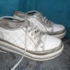 кроссовки на платформе,возможен обмен