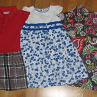 платья для девочки 110-122см