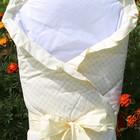 Конверт-одеяло на выписку из роддома для детей Milpol 100% хлопок ( Польша)