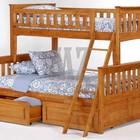 Кровать двухъярусная Жасмин (три спальных места)
