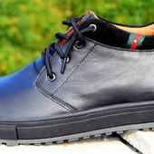 Зимние мужские ботинки TopHole размеры 40-45 N320