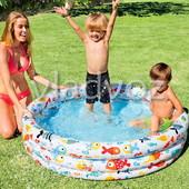 Детский надувной бассейн Intex 59469 + мяч и круг