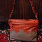 Женская летная сумка почтальон Распродажа 150 грн оранжевая