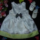 Нарядное платье Mothercare на 3-6 мес,рост 62-68 см.Большой выбор Одежды!