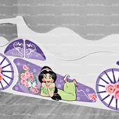 Кровать машина Принцесса Жасмин ✿ Бесплатная доставка