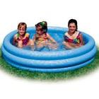 Детский надувной бассейн диаметр 147см