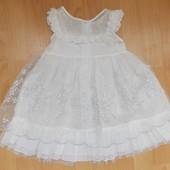 Платье детское нарядное размеры 80,90,100 на выбор.Новое!
